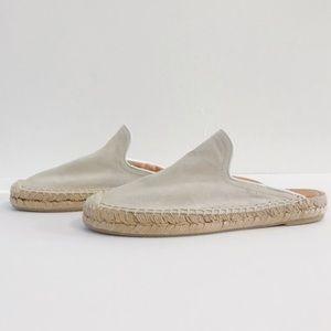 rag & bone Clio Suede Leather Mule Espadrilles